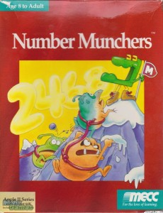 Number Munchers box