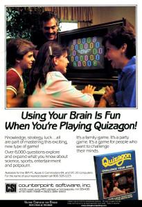 Quizagon ad